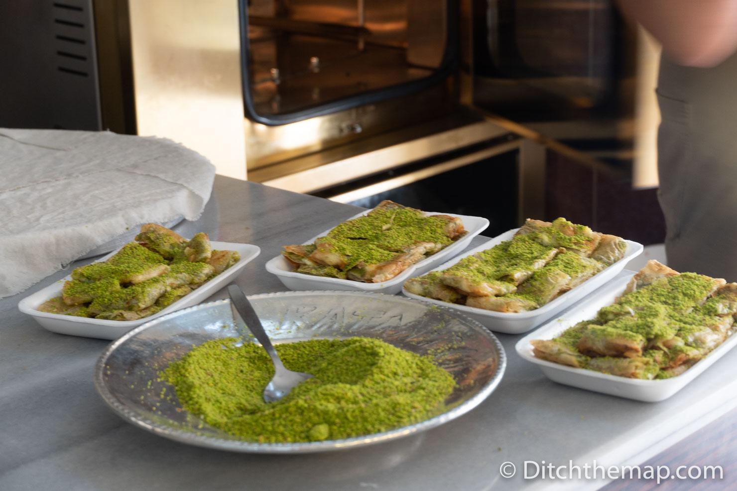 Packaging Katmer Dessert