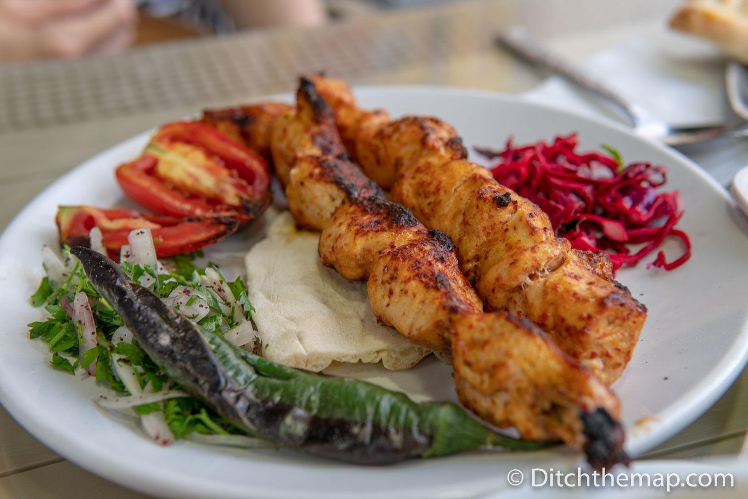 Chicken Kebab in Turkey
