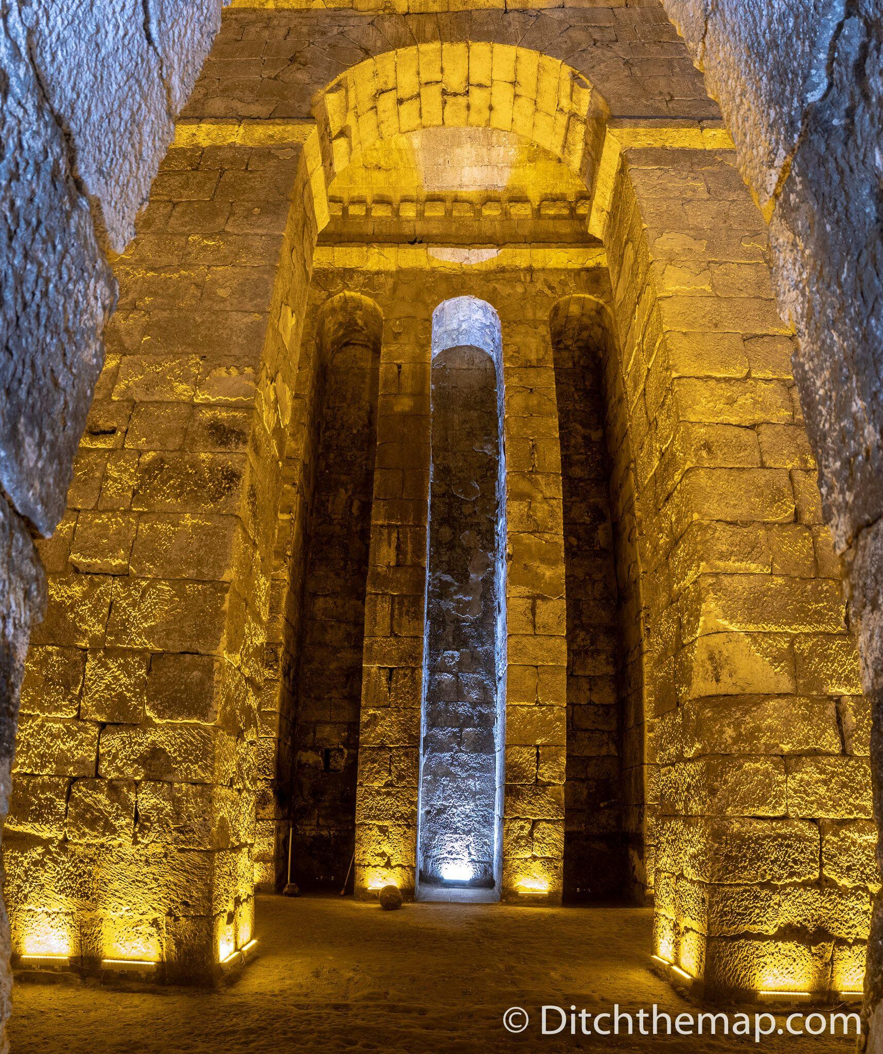 Water cistern in Dara, Turkey