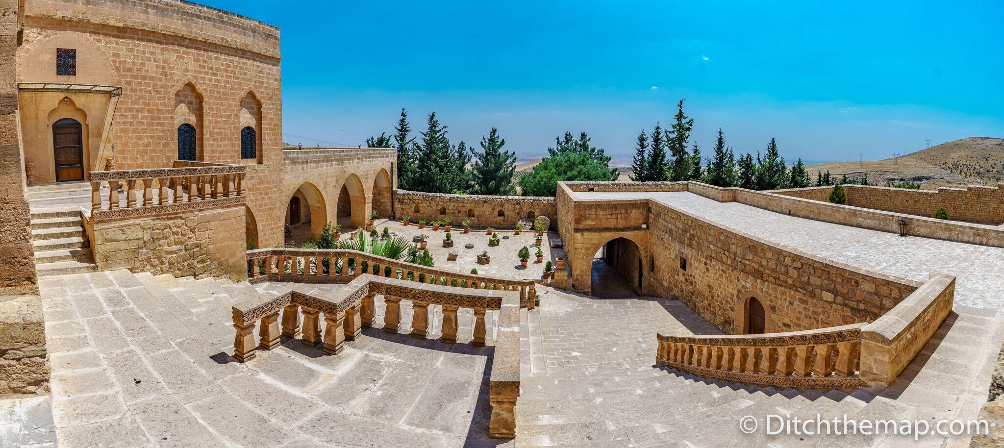 Deyrul Zafaran Monastery near Mardin, Turkey