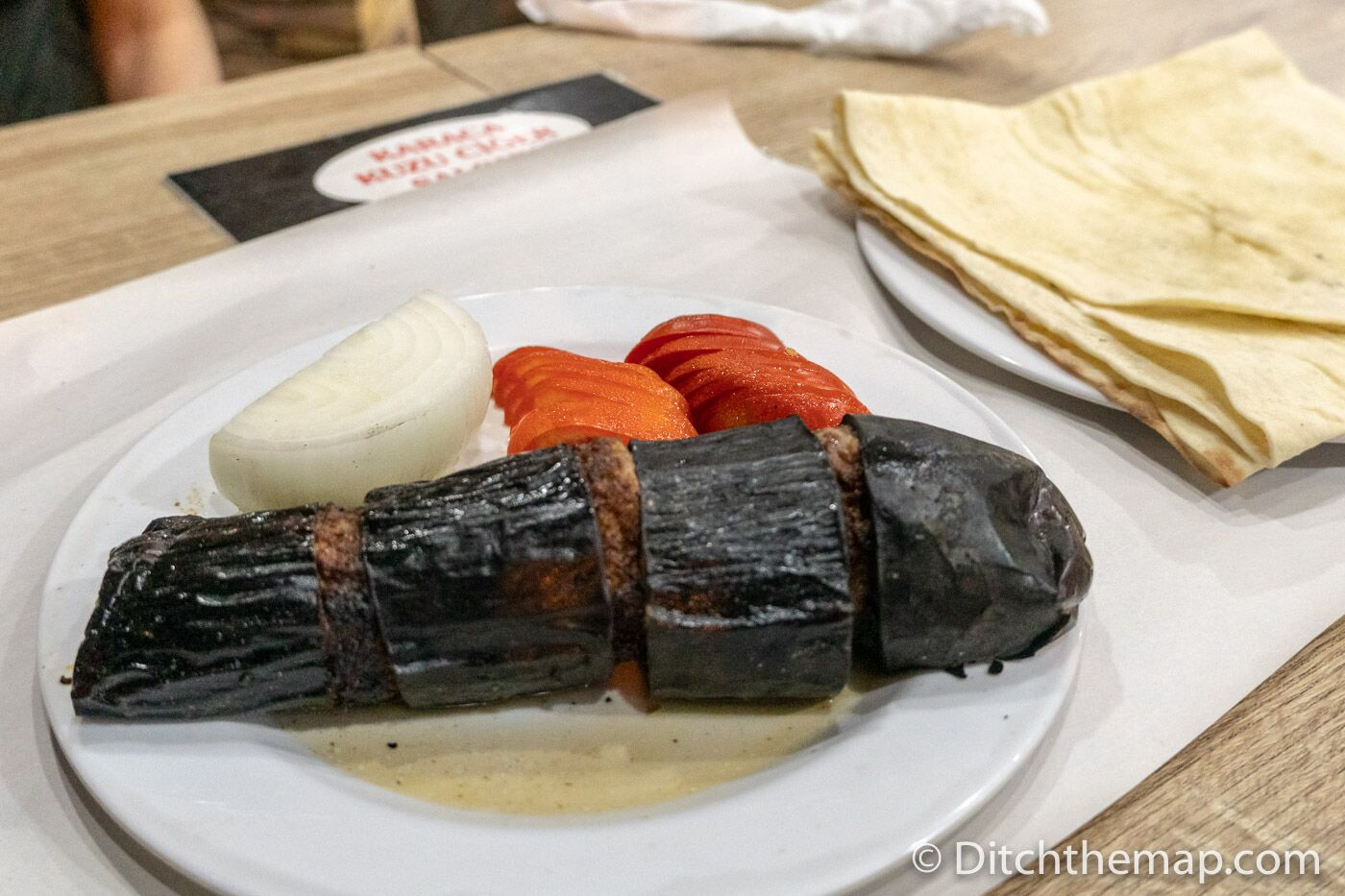 Eggplant kebab is another tasty local specialty to try in Sanliurfa, Turkey