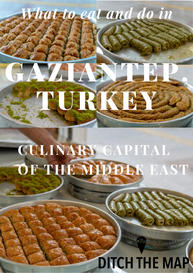 What to eat in Gaziantep, Turkey Pinterest Pin