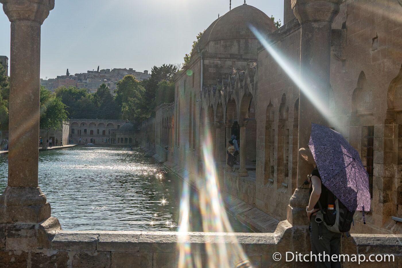 The pool of Abraham in Sanliurfa, Turkey