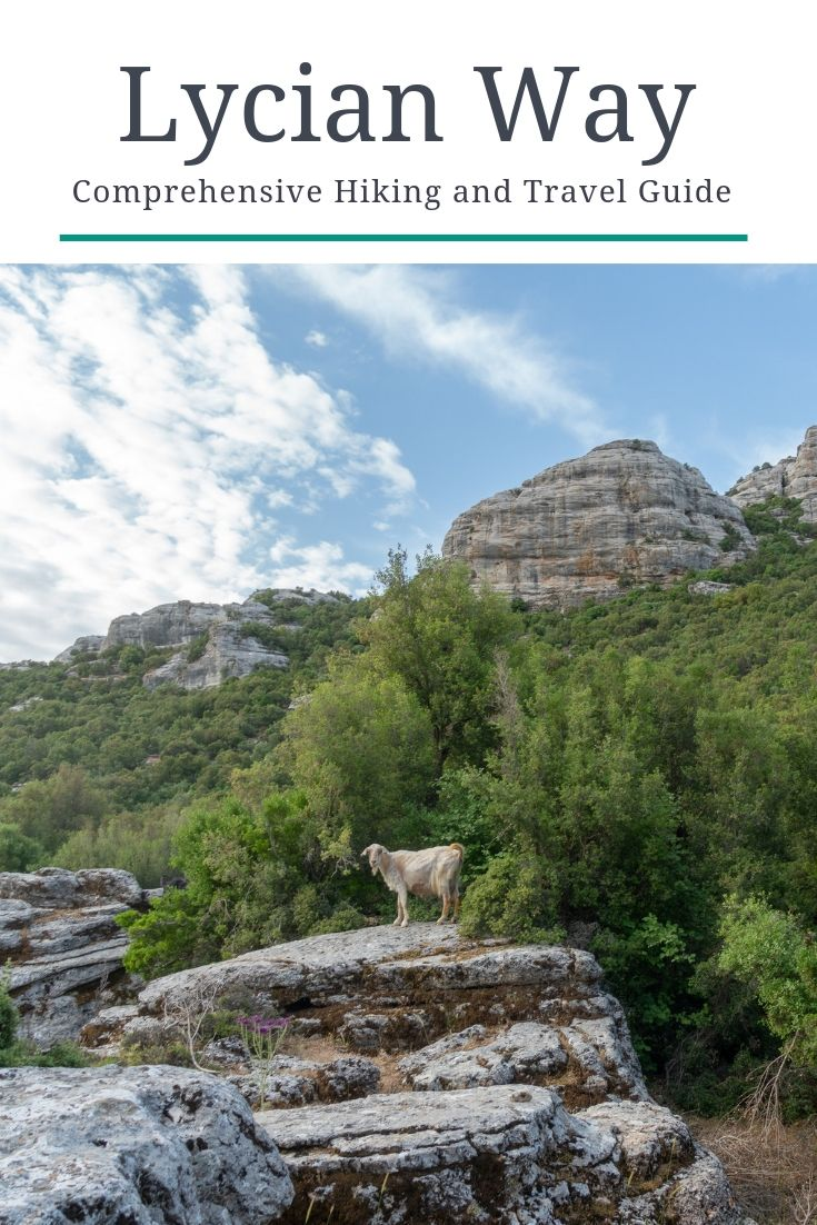 Lycian Way Ultimate Hiking Travel Guide Pinterest Pin