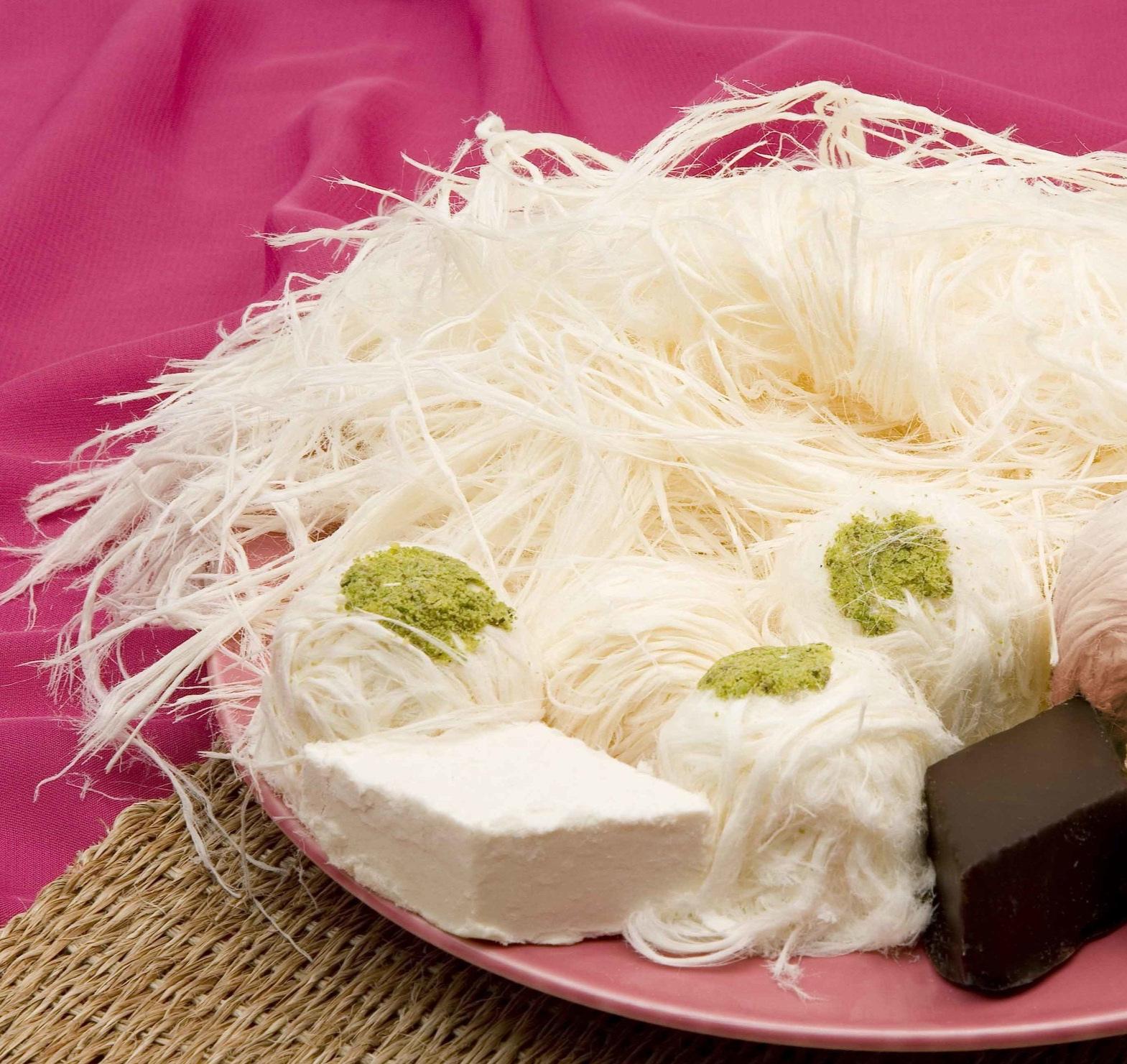 Pişmaniye  a sweet stringy dessert