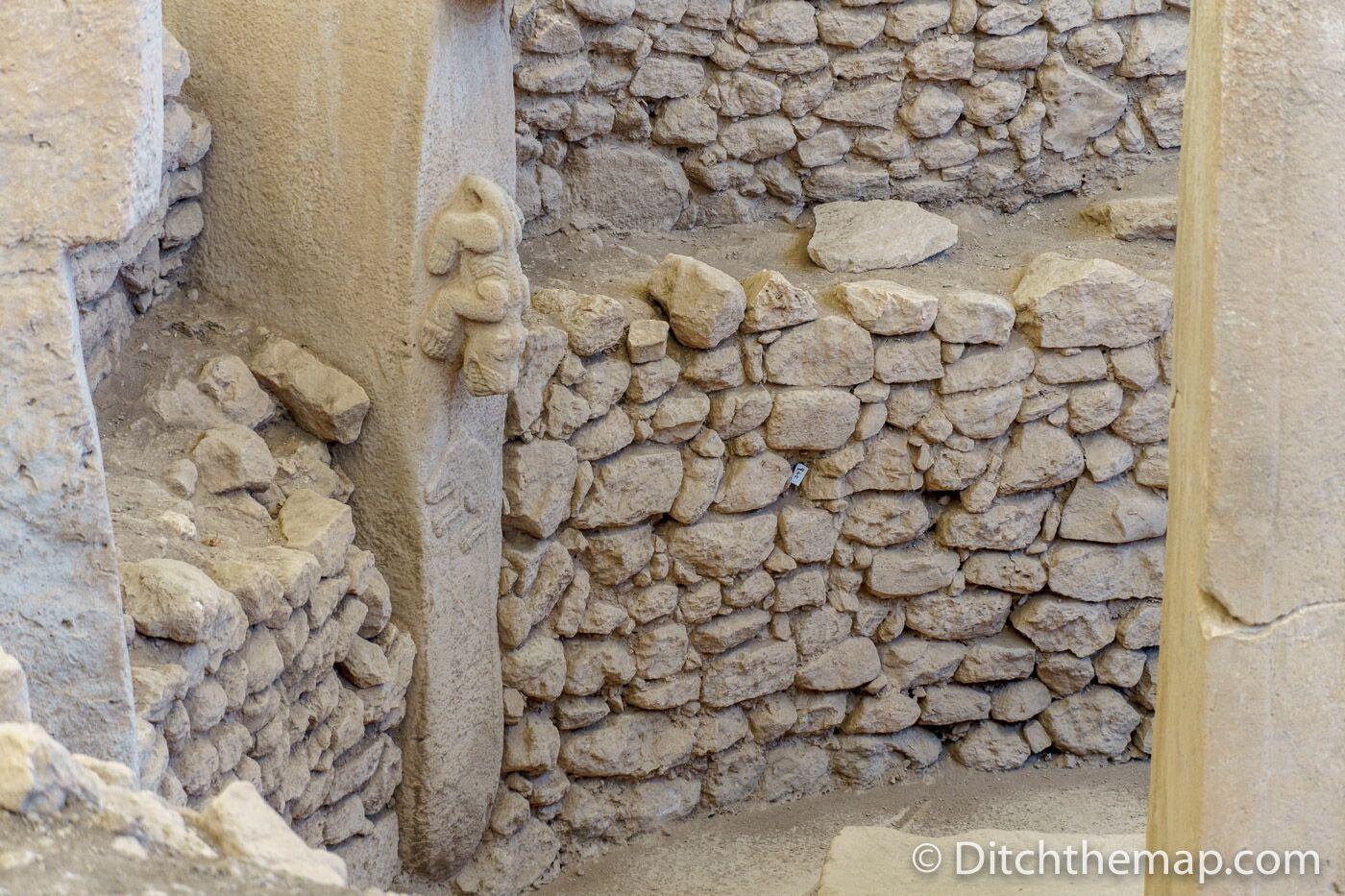 Animal adorned stone pillar at Gobekli Tepe
