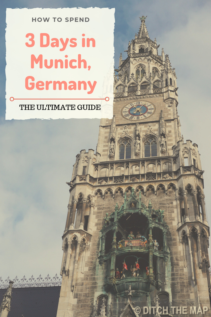 How to spend 3 days in Munich Germany Pinterest Pin.