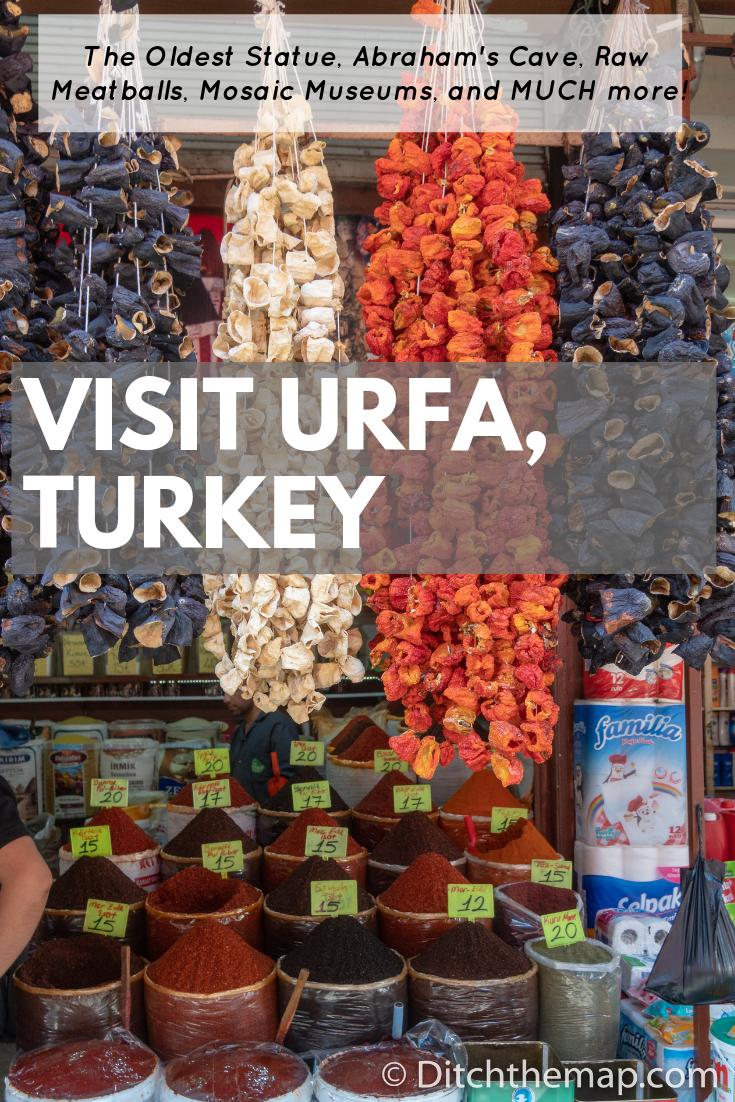 Visiting Urfa Turkey Pinterest Pin