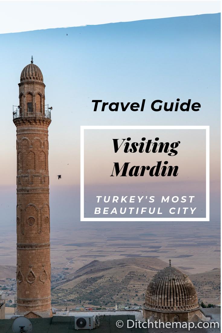 Travel Guide to Mardin Turkey, Beautiful Southeast City in Turkey near Syrian Border