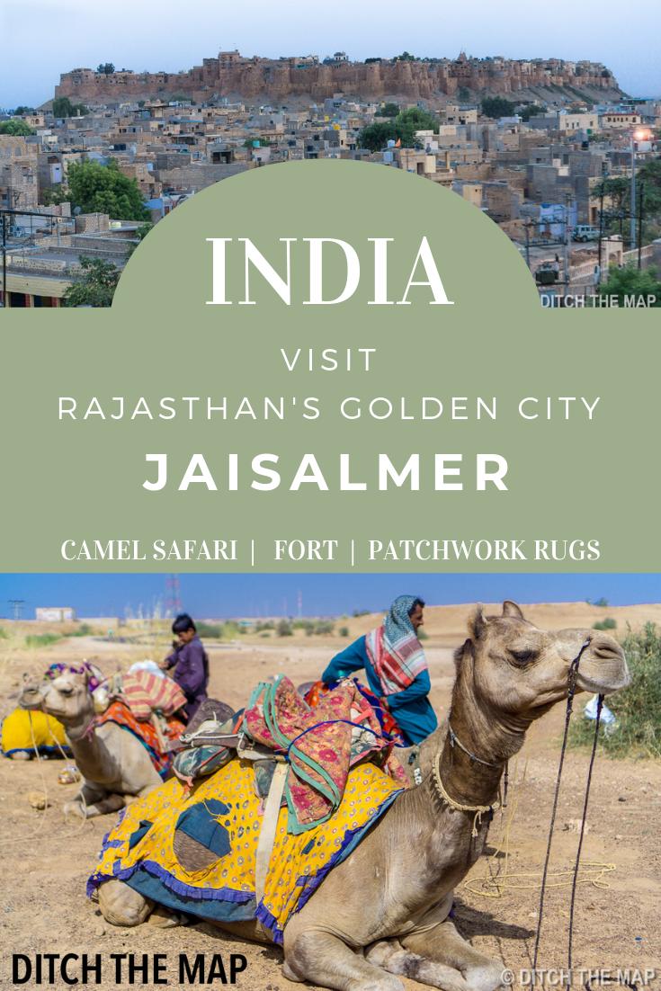 A camel safari in the Thar Desert in India's Rajasthan Jaisalmer