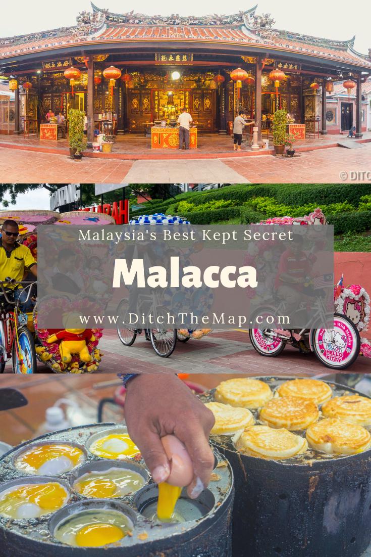 Malacca is Malaysia's best kept secrets.