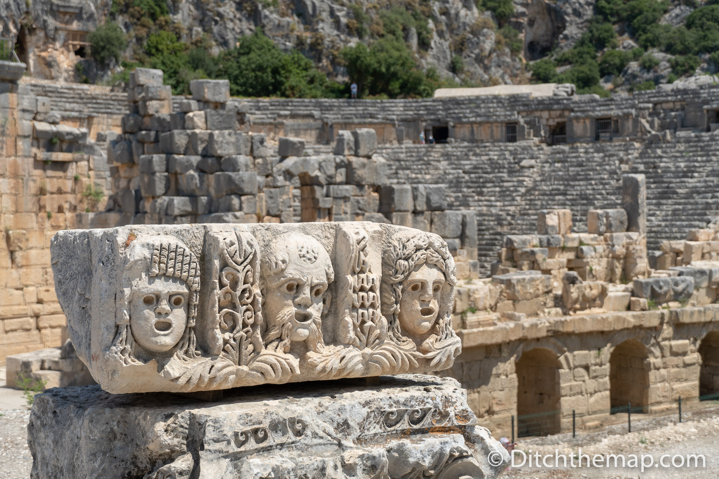 Exploring the ancient Lycian ruins of Myra