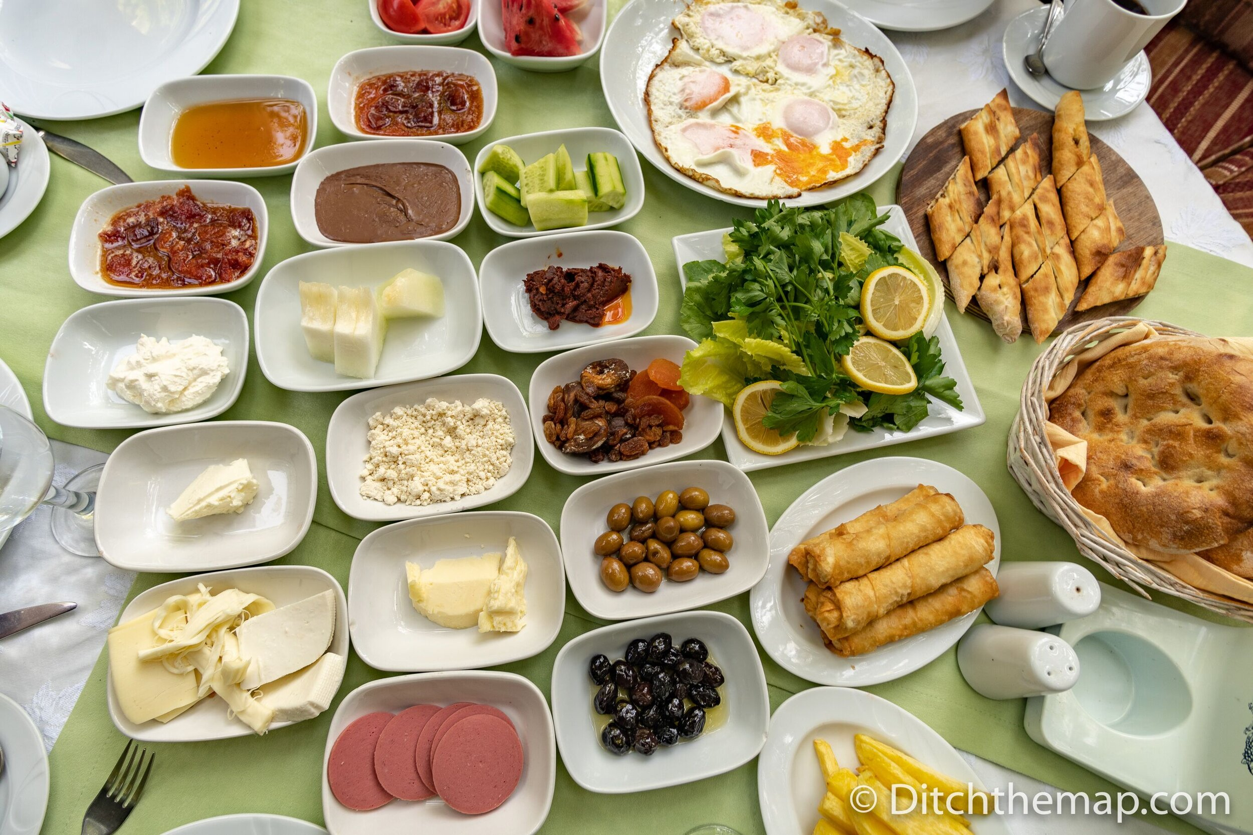 Turkish breakfast - a true feast!