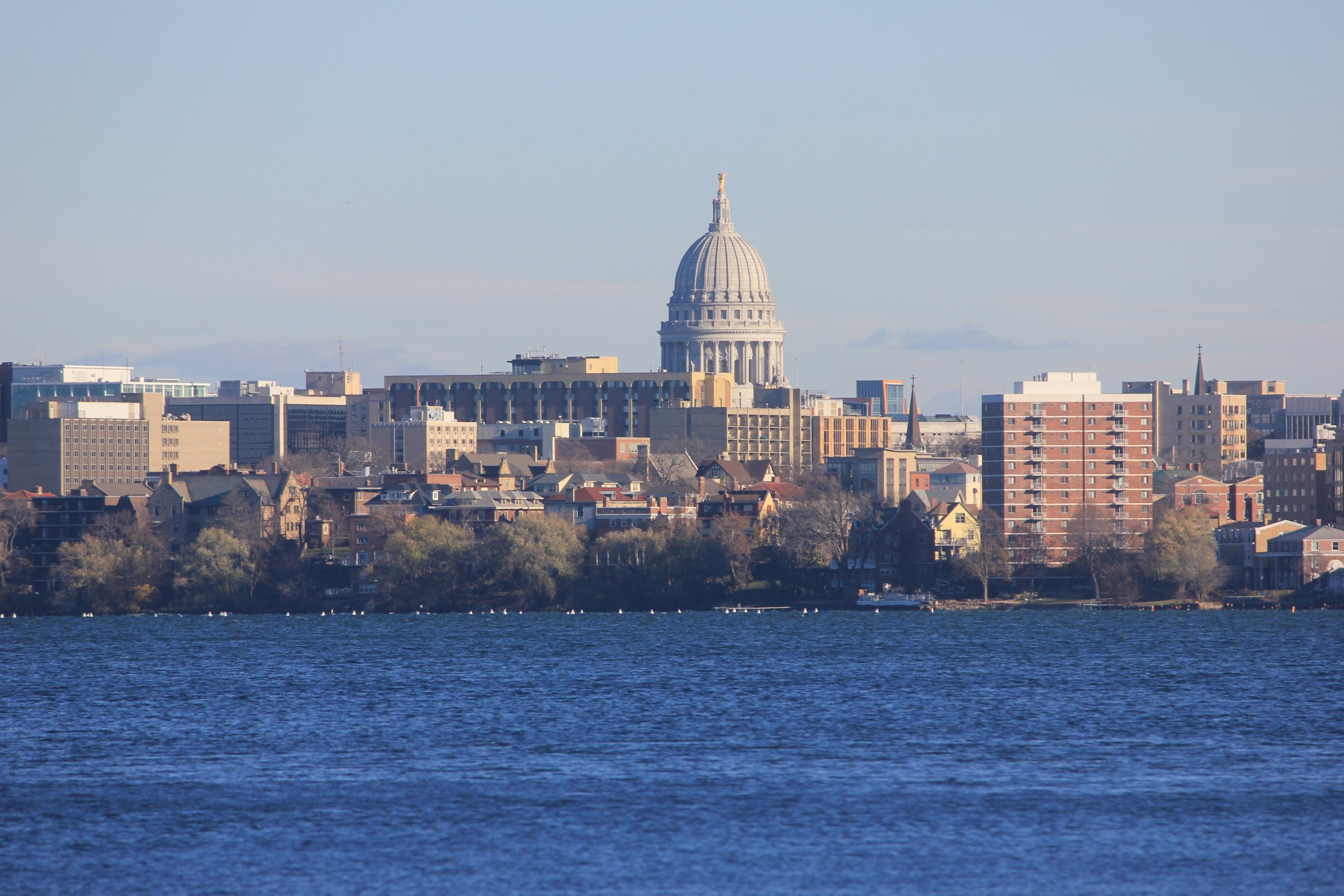 Cityscape of Madison Wisconsin