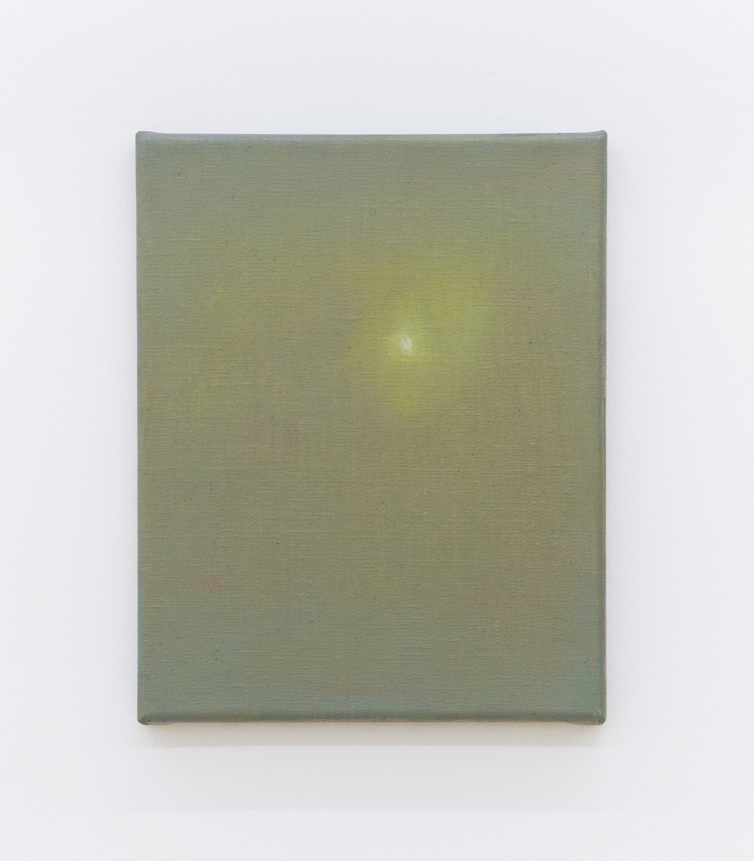 Matthew Sepielli   Little Light,  2019 Oil on linen 10 x 8 inches