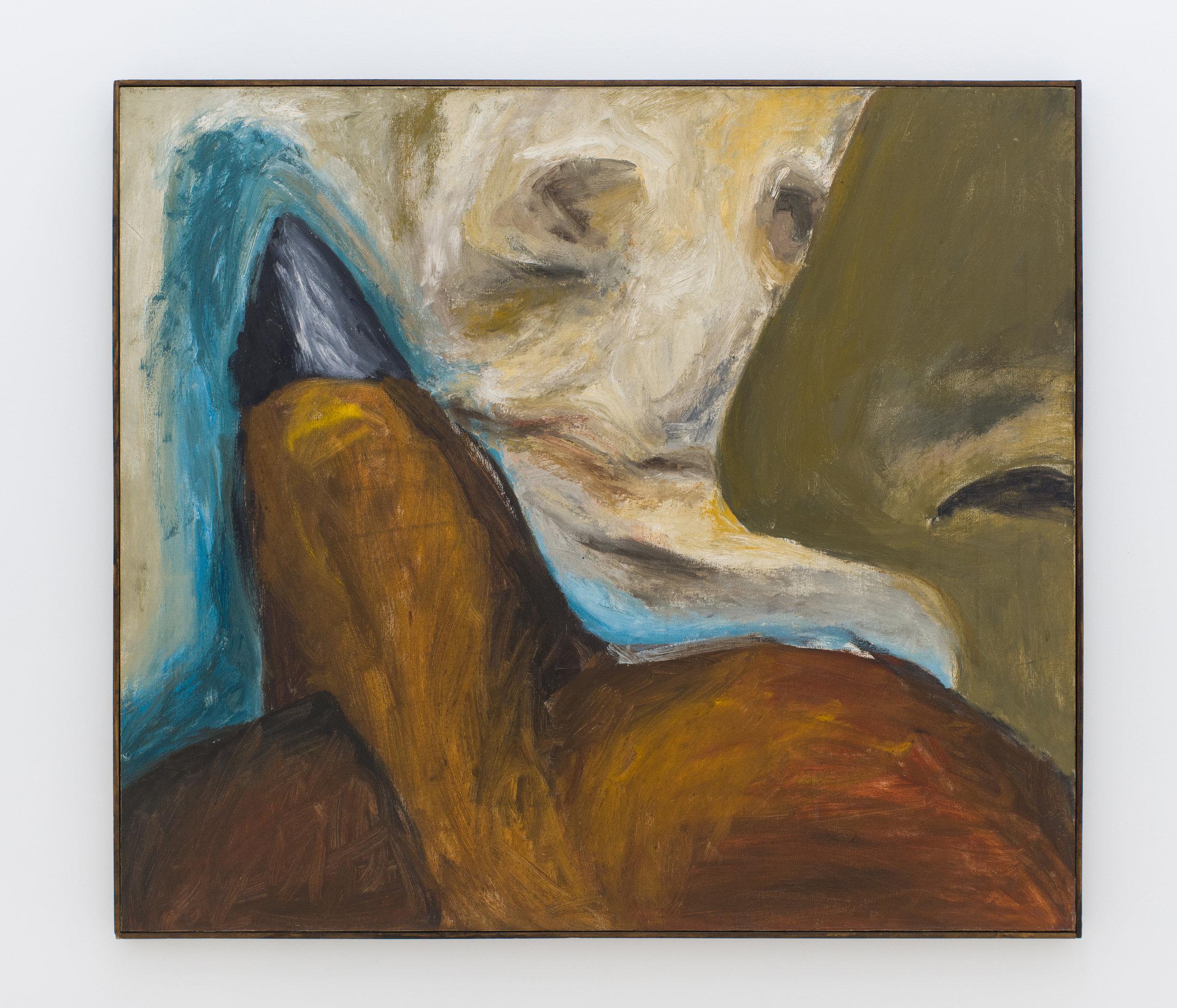 Leo Lozano   Untitled,  1962 Oil on canvas 31.75 x 35.75 inches