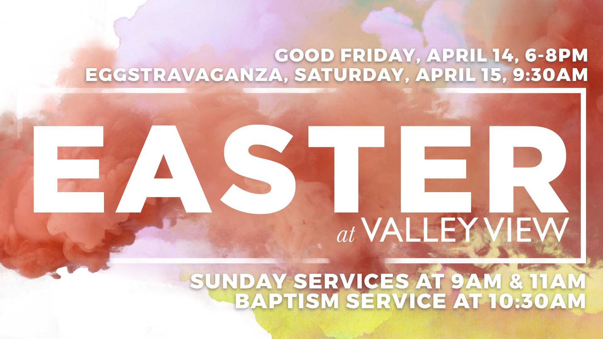 Easter at valley view dallas