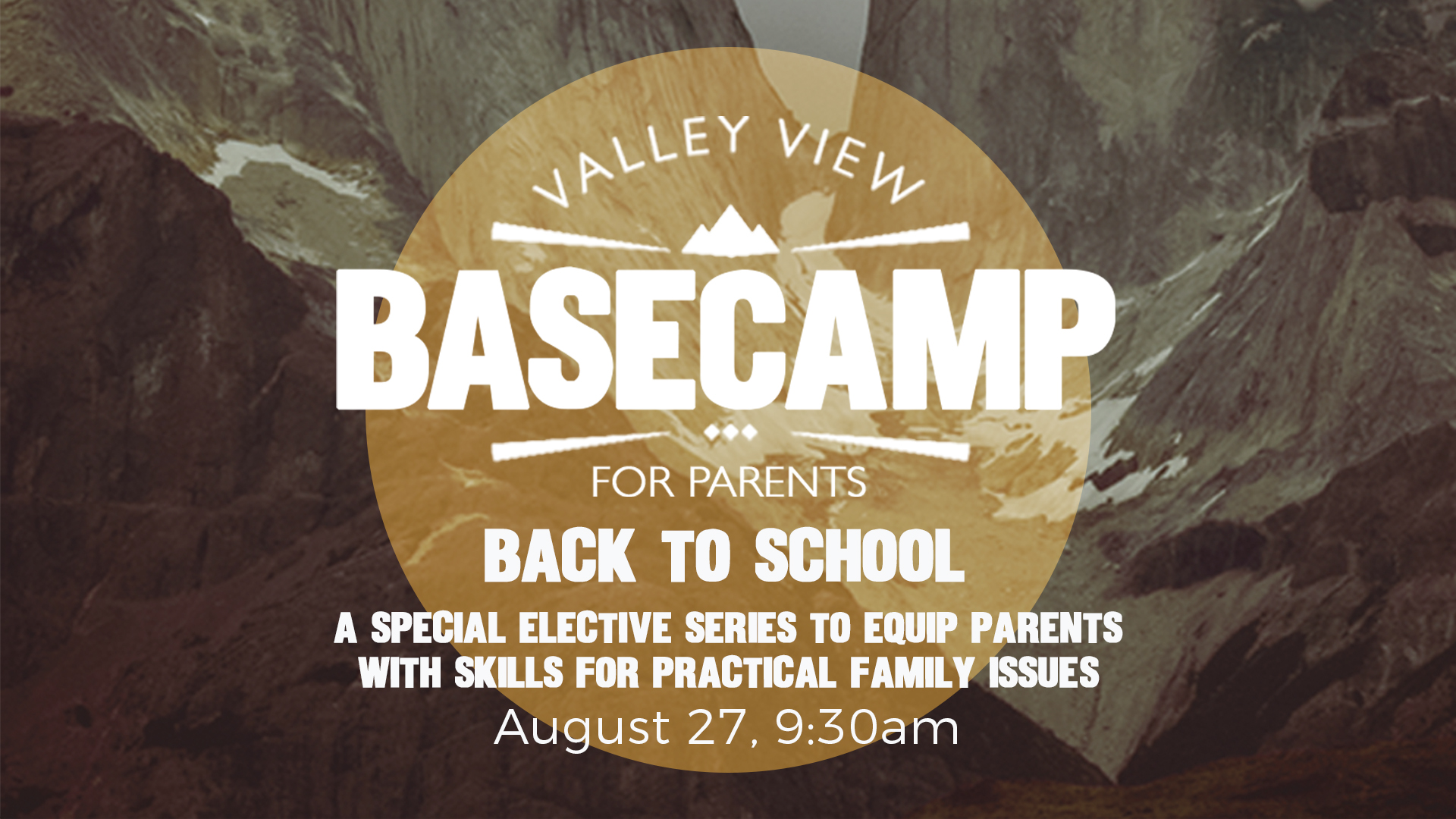 back to school class sunday valley view christian church