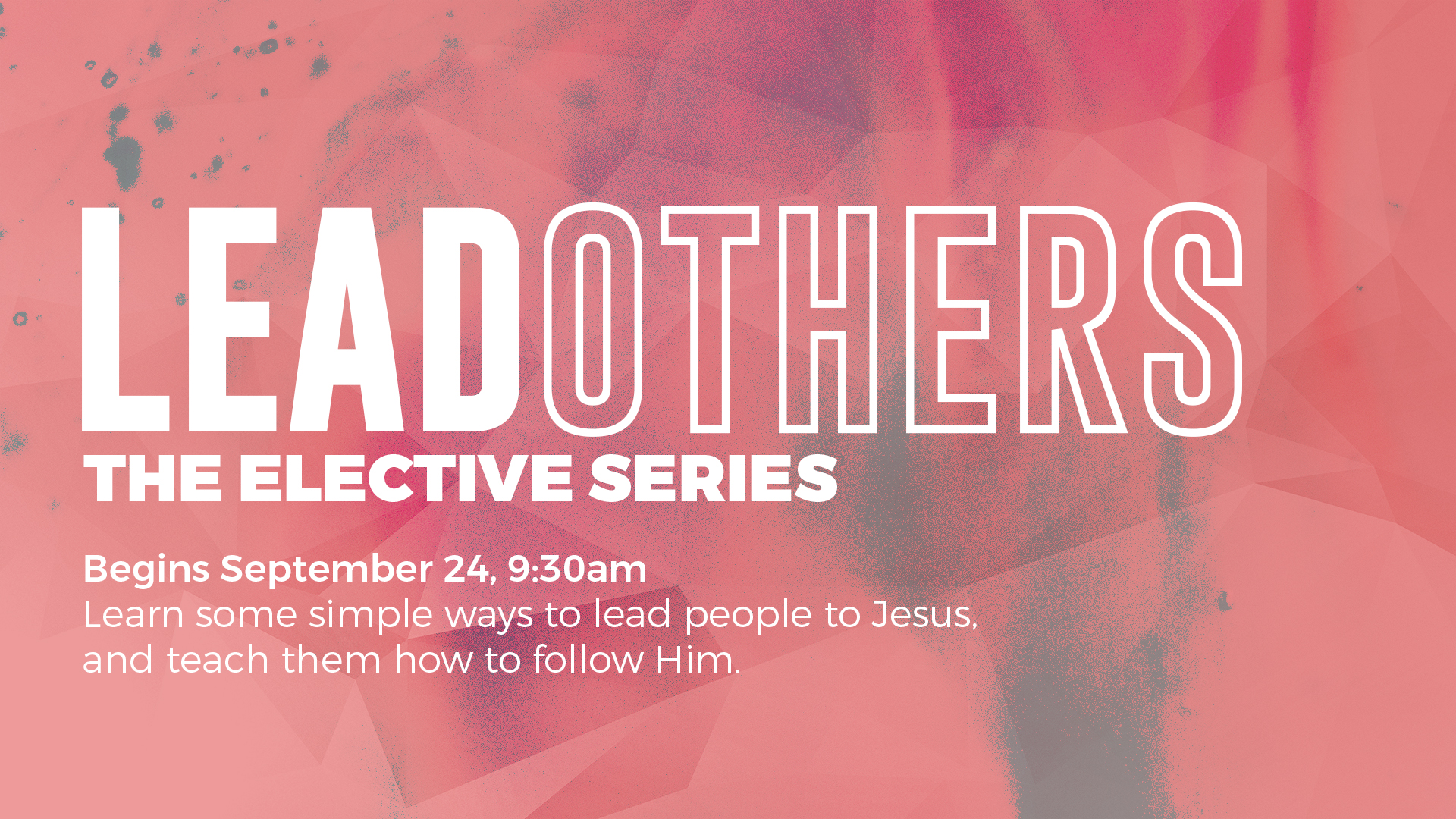 lead others elective