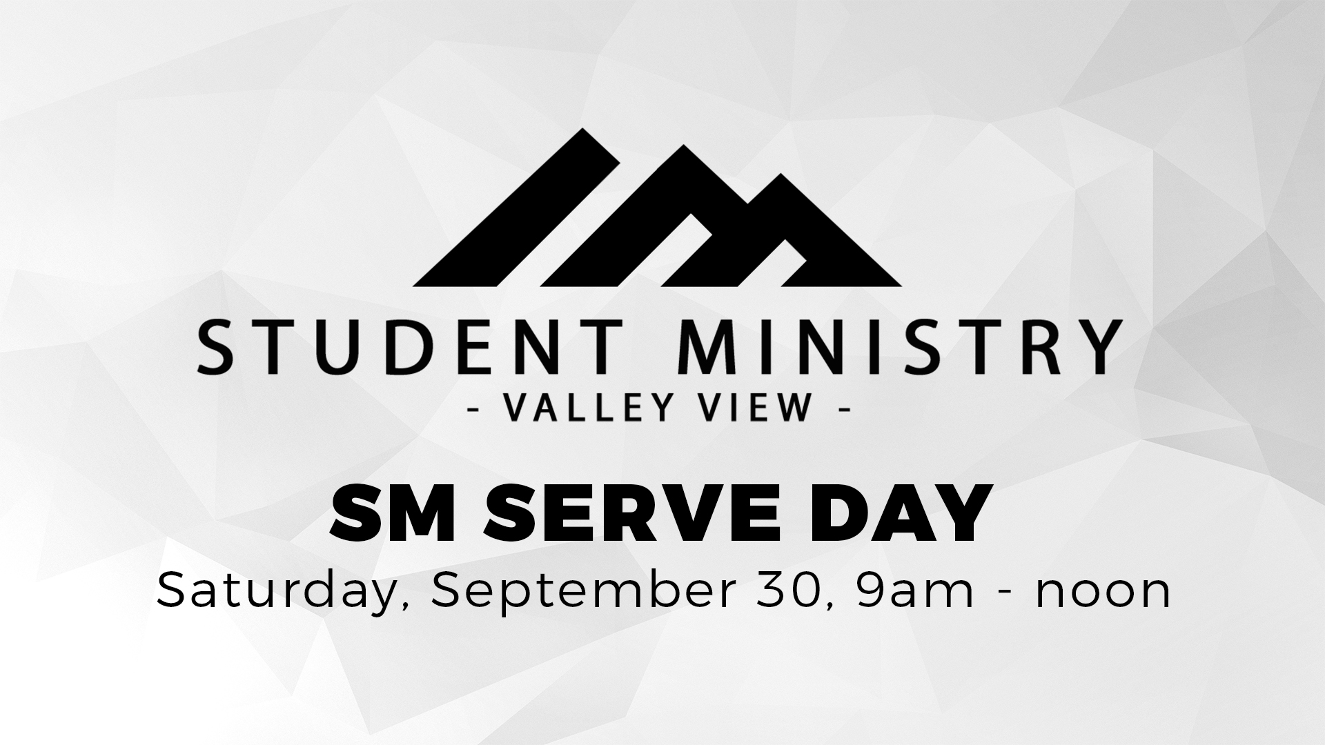 student ministry serve day valley view dallas