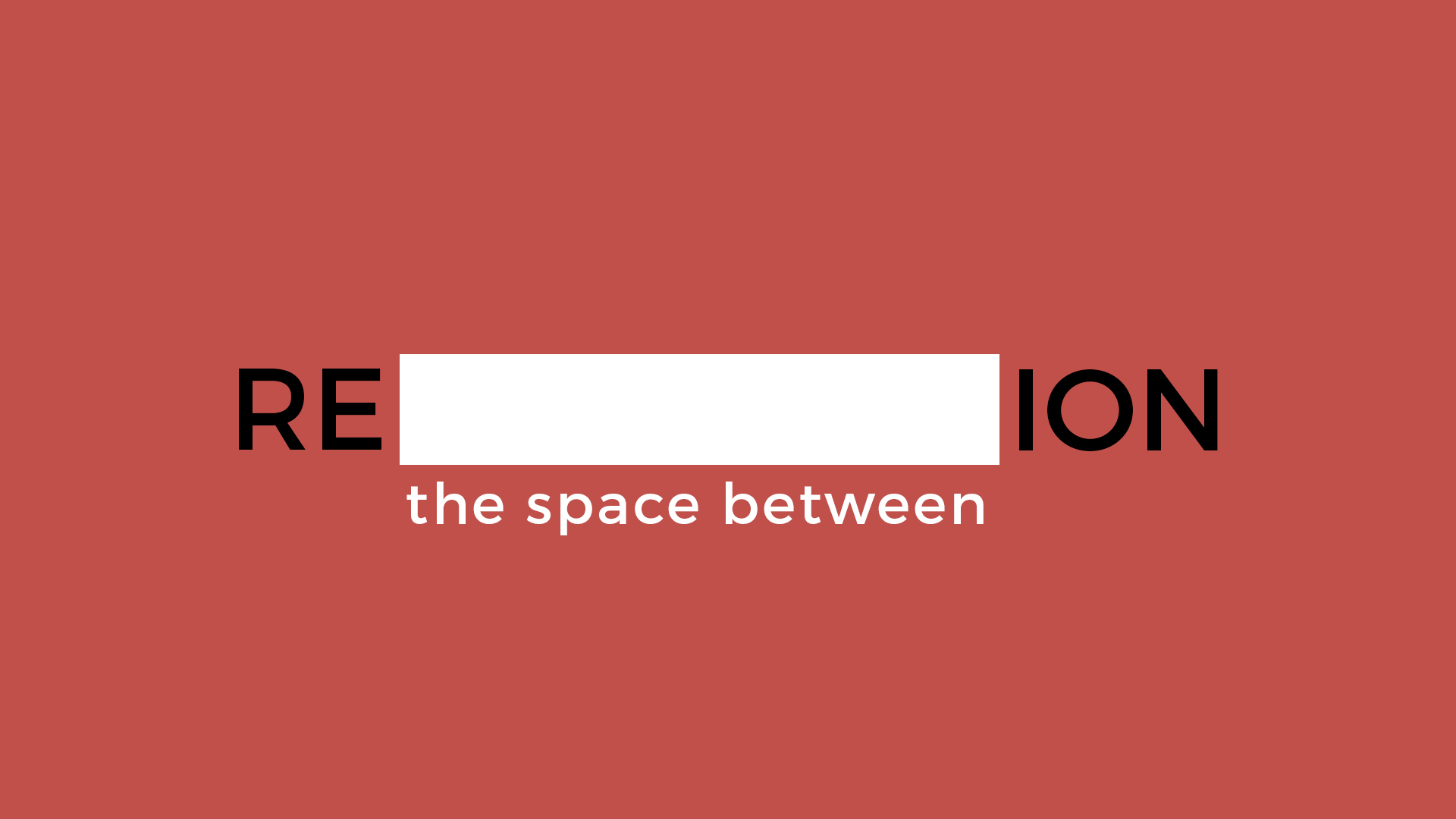 The Space Between - January 21 - April 1, 2017