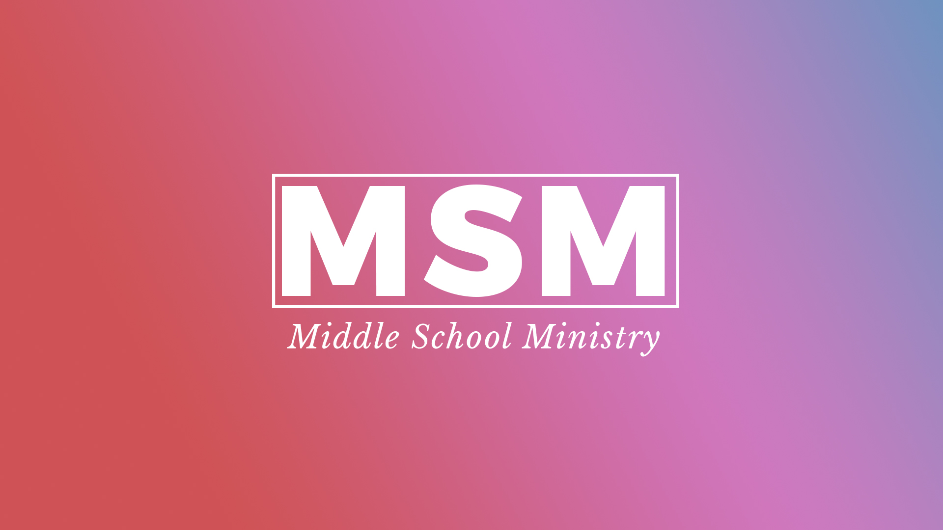 middle school ministry valley view dallas
