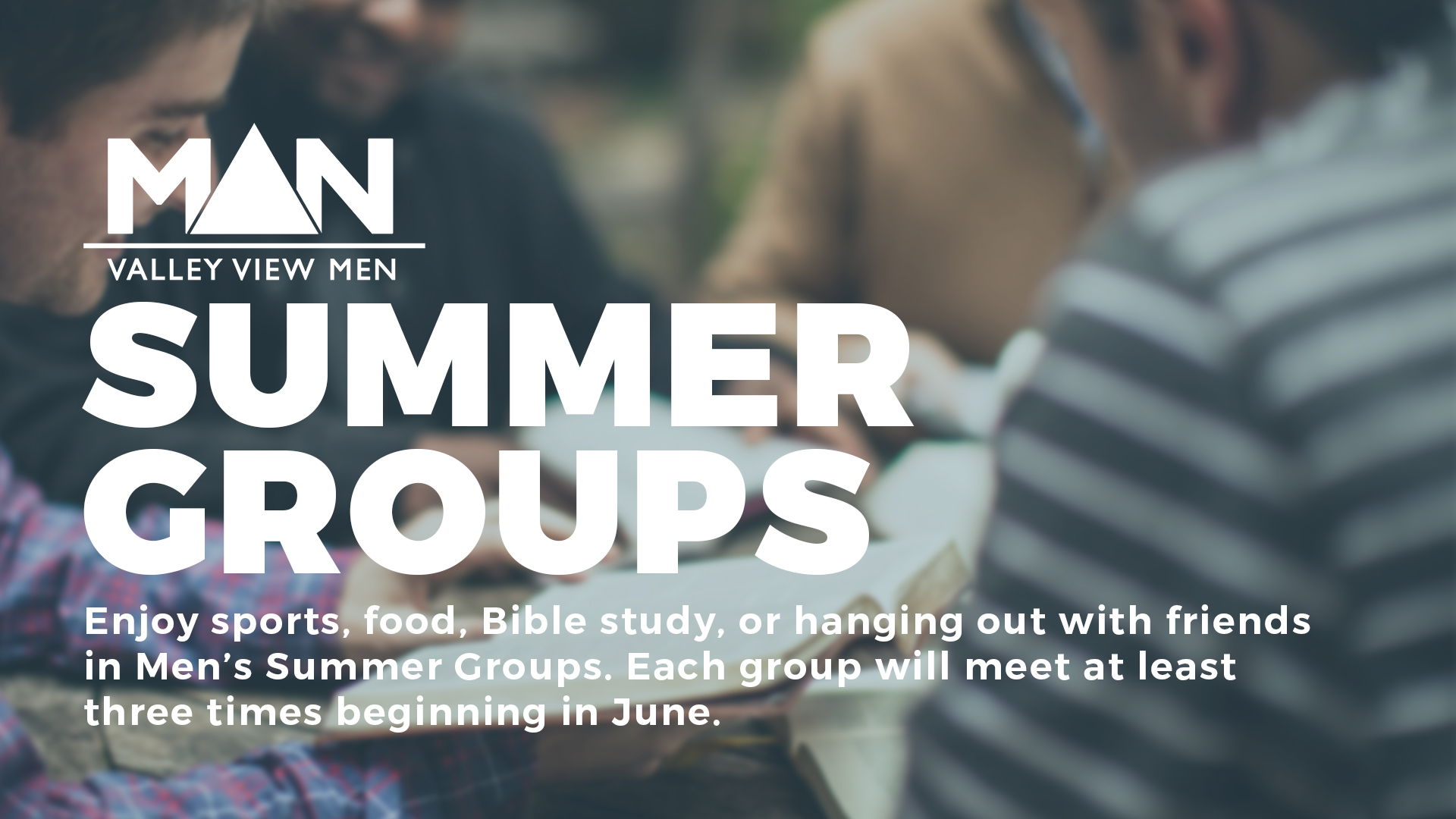 men's summer groups valley view dallas