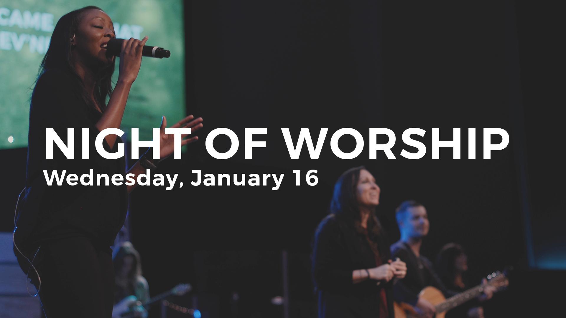 dallas night of worship