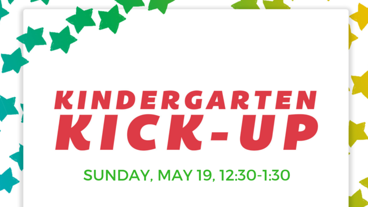 kindergarten kick up dallas church children's ministry