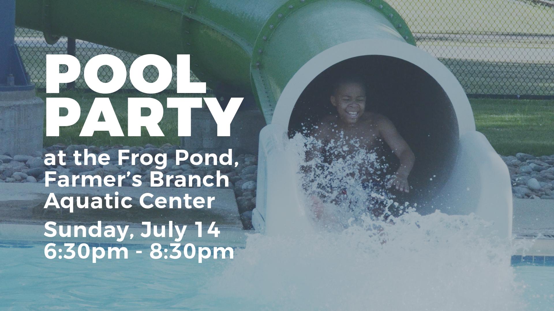 church pool party dallas