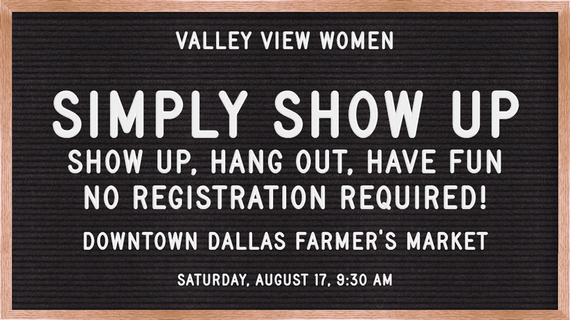 valley view women's event dallas