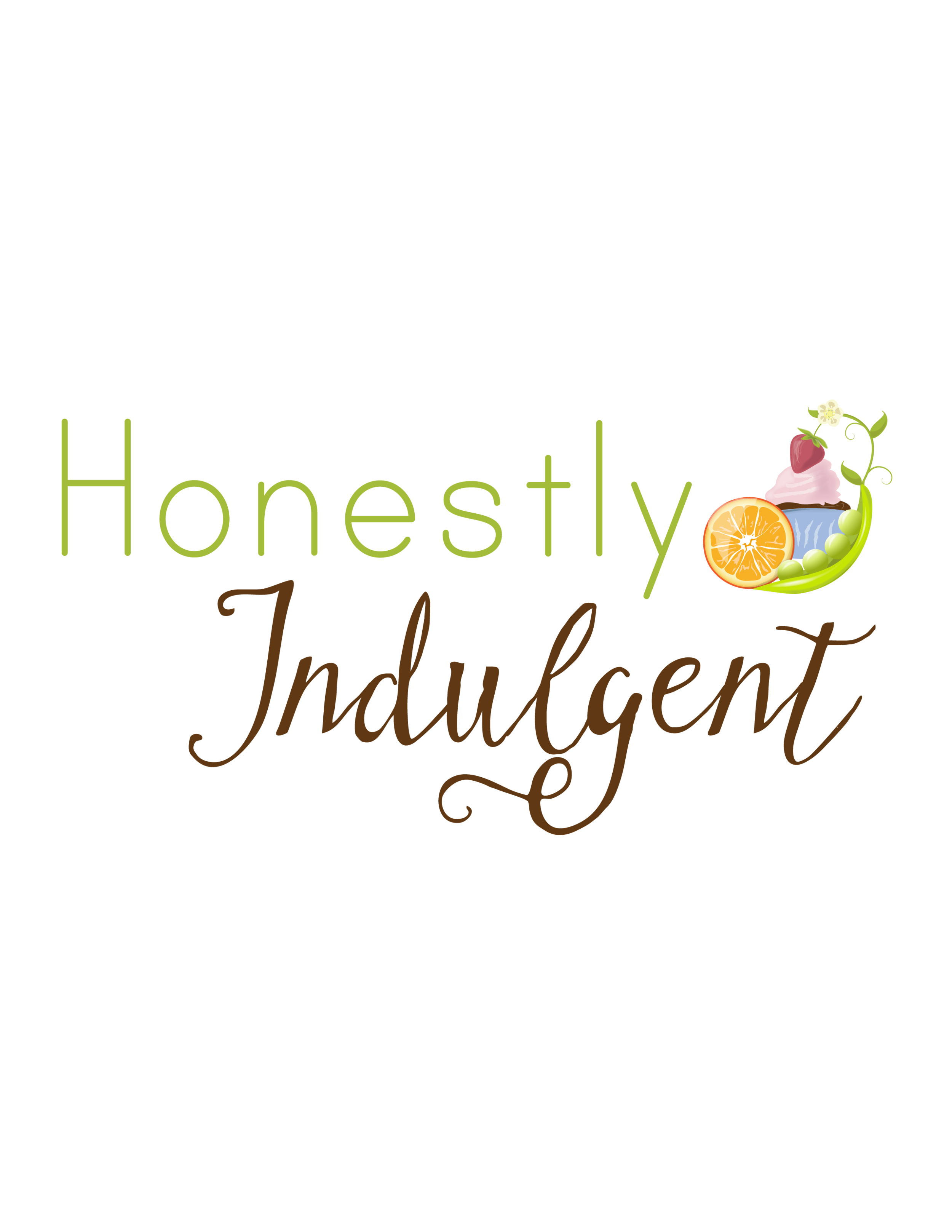 HONESTLY INDULGENT: BLOG LOGO