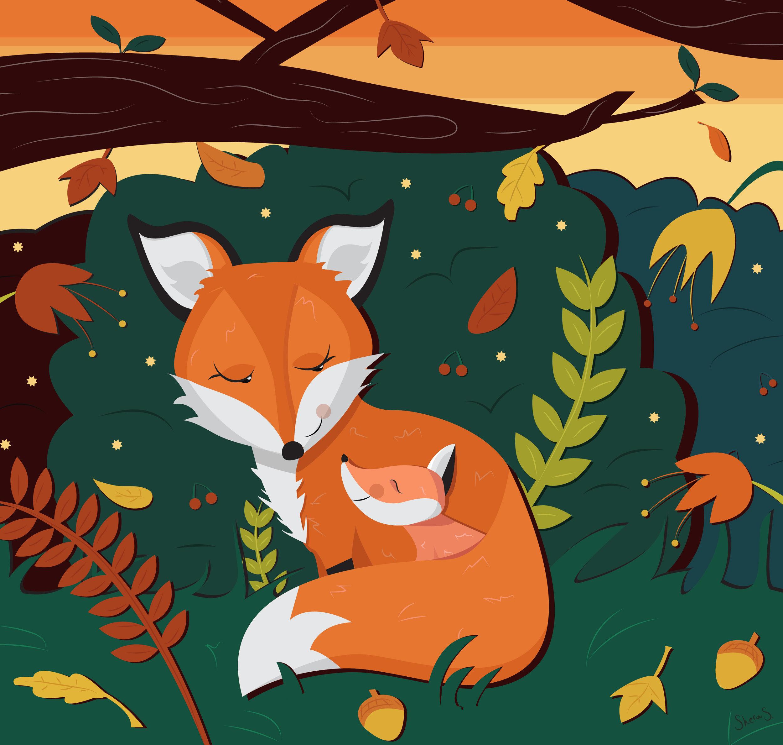 GOODNIGHT BABY FOX