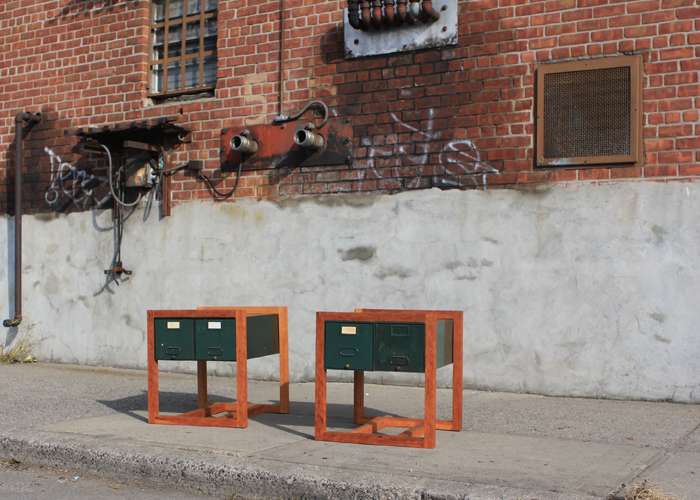 Evergreen St. Side Tables