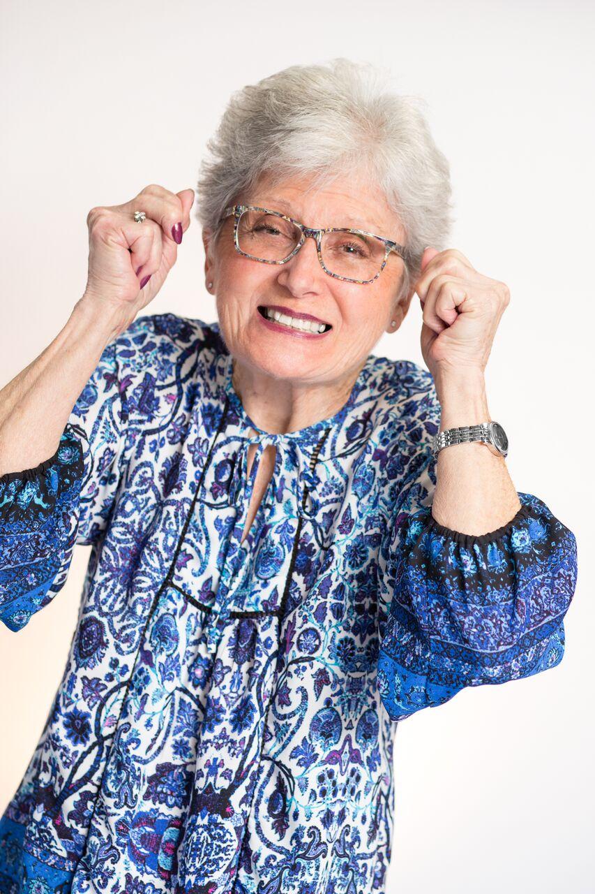 Rita is Happy! Look #1!
