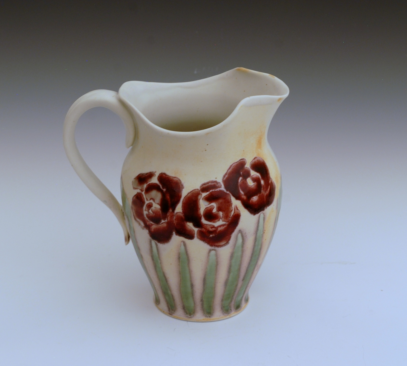 Rose Red Pitcher