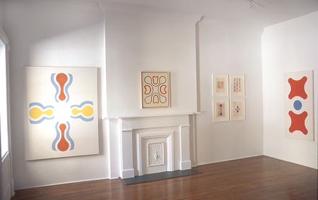 paul-feeley-at-Lawrence-Markey-2002-installation-view