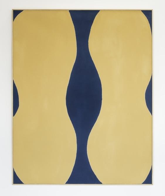 Paul Feeley,  #13 , 1962, Oil-based enamel on canvas, 60 x 48 inches, PFE6227  Lawrence Markey Inc.  1/5