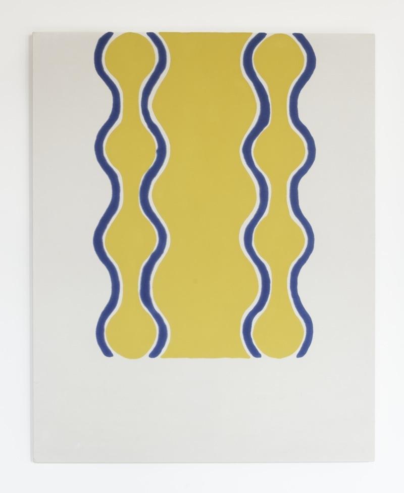 Paul Feeley,  #22 , 1963, Oil-based enamel on canvas, 59 1/2 x 47 1/2 inches, PFE6314  Lawrence Markey Inc.  2/5