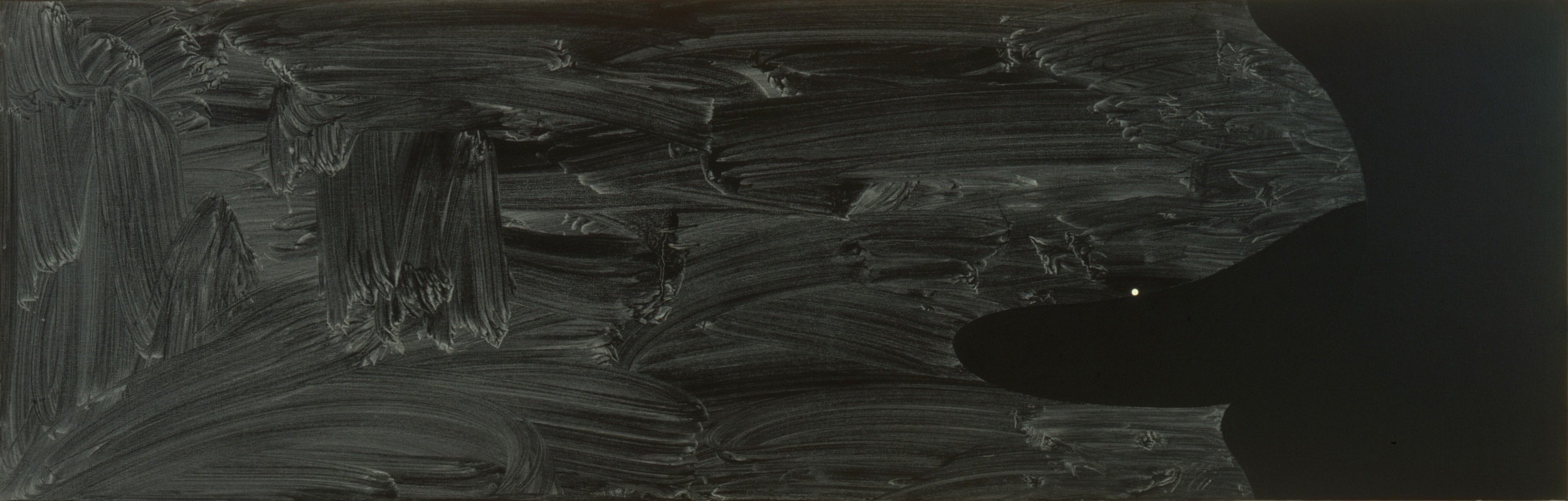 Robert Moskowitz,Untitled, 1997, Oil on canvas, 25 x 78 inches  2/3  Lawrence Markey Inc.