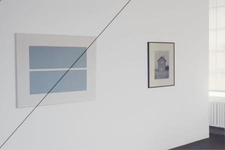 john-riddy-at-Lawrence-Markey-1999-installation-view
