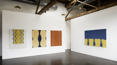 paul-feeley-at-Lawrence-Markey-2013-installation-view