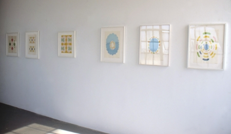 paul-feeley-at-Lawrence-Markey-1997-installation-view