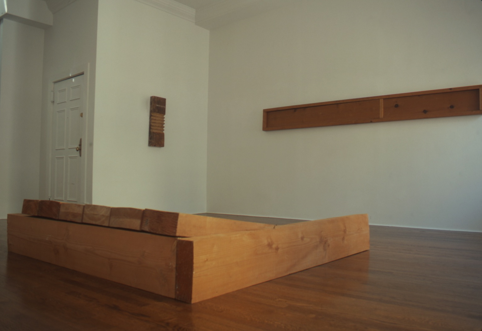 Richard Nonas at Lawrence Markey 2001 11.jpeg