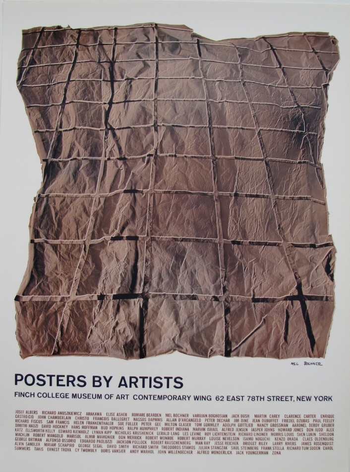 Posters By Artists   Finch College Museum of Art, New York