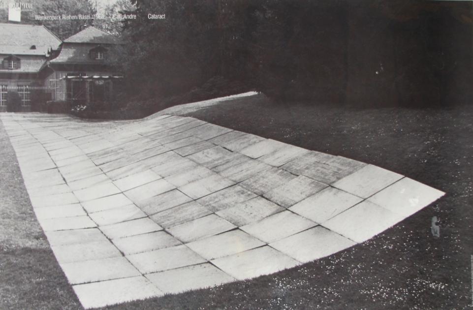 CARL ANDRE  Cataract  1980  Wenkenpark Riehen, Basel
