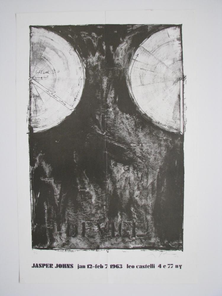 Jasper Johns  Jan. 12 - Feb. 7, 1963  Leo Castelli