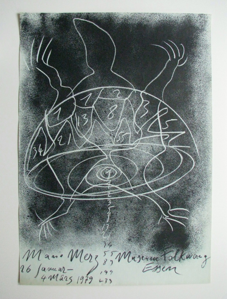 MARIO MERZ  January 26–March 4, 1979  Museum Folkwang, Essen