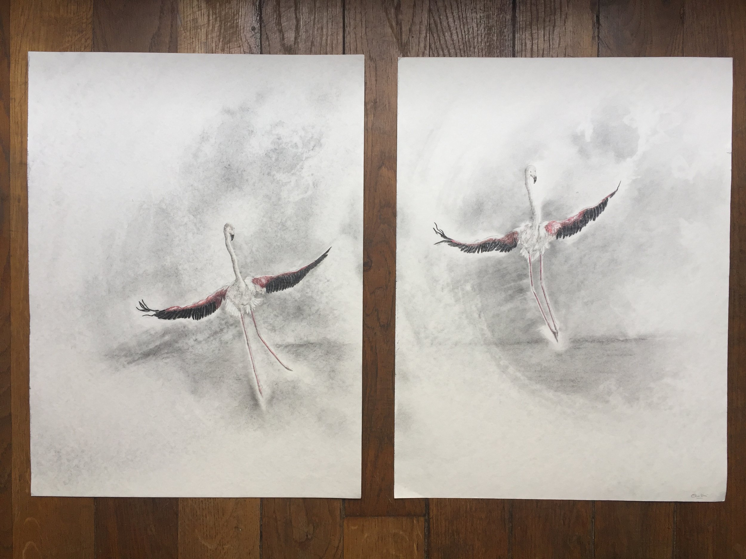 Dancers Dyptych