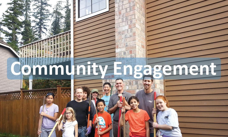 Community Engagement Program Button